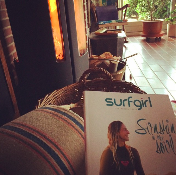 Surf Girl Mag & Fireplace
